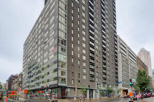 Charming & bright one bedroom condo on Place-des-Arts