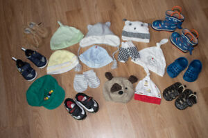 Baby Hat and Shoe lot