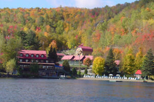 50 % UNE SEMAINE A LOUER AUBERGE LAC MORENCY LAURENTIDES