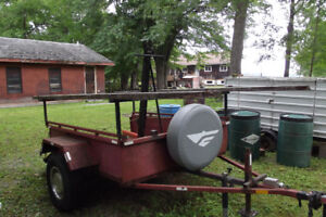 Trailer For Sale $700.00   Reduced from $850.00