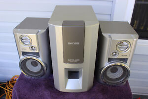 Koss Subwoofer and Sony Surround Sound Speakers