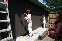 Stain Decks Cash Cheques -Summer Painter Job for Students!