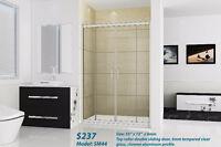 Shower enclosure , Sliding glass shower doors $237.00