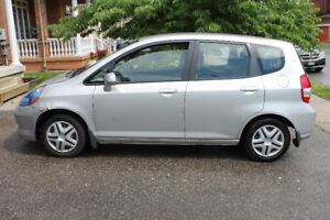2007 Honda Fit Winter-beater Hatchback