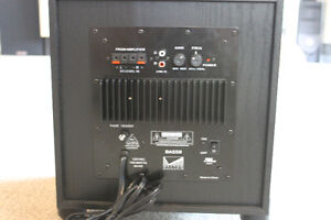 8 inch home theatre sub woofer, Vector Bass8 by Vector Records Moose Jaw Regina Area image 7