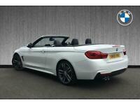 2018 BMW 4 Series 420i M Sport Convertible Auto Convertible Petrol Automatic
