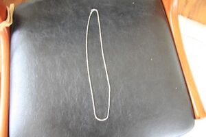 "11"" STERLING SILVER NECKLACE"""
