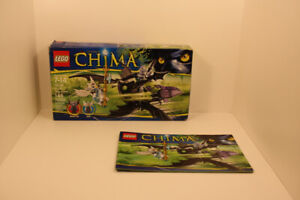 LEGO Chima: Braptor's Wing Striker. Good condition, USED.