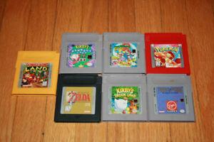 Nintendo gameboy games