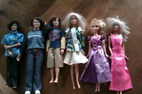 Barbie and friends $10 each or all for $50