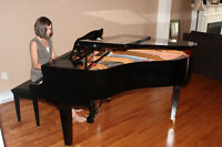 Yamaha baby grand, Mint, 2 YO, Prof moving and tuning included