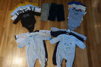 Lot of boys clothes 0-3 months/3 months
