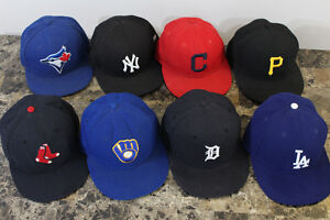 Men's Fitted Hats (sizes listed in description)