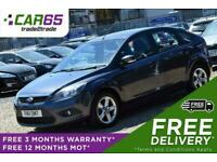 2011 Ford Focus 1.6 ZETEC TDCI 5d 109 BHP + FREE DELIVERY + FREE 3 MONTHS WARRAN