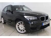 2012 62 BMW X1 2.0 XDRIVE20D M SPORT 5DR AUTOMATIC 181 BHP DIESEL