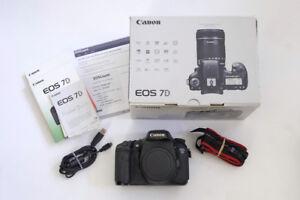 Canon EOS 7D Mark I classic 18.0MP Digital SLR Camera body only