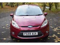 Ford Fiesta 1.4 TDCI TITANIUM ** 6 MONTH WARRANTY ** (red) 2009