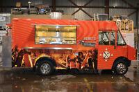 Food Truck ''graumman, stepvan, utilimaster, cart, remorque