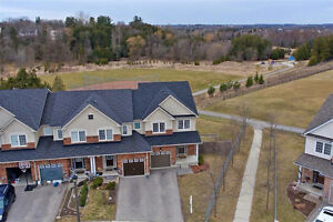 A Must See!Stunning EndUnit Townhome On Massive Pie Shaped Lot