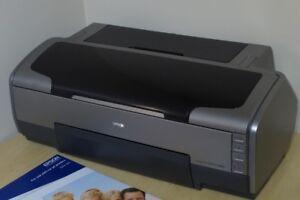 Papier photo à vendre 200$ + Imprimante 19 pouces gratuite