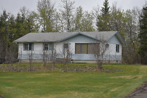 1200 Sq Ft 3 Bdrm on 80 Acres with Garage