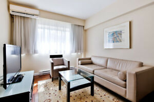 Fully Furnished & Unfurnished Apartments (3 1/2) in TMR/VMR