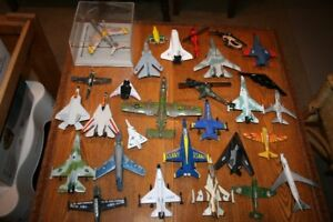 Vintage Metal and Plastic Airplane Collection Circa 1970 to 1980