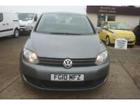 2010 VOLKSWAGEN GOLF PLUS 1.6 TDI 105 S 5dr