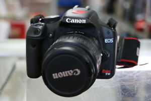 **FEATURE PACKED** Canon EOS Rebel T1i 15MP DSLR Camera (#1969)
