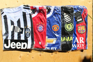 kids soccer jerseys Euro Clubs, personalize gift - kids name on Belleville Belleville Area image 6
