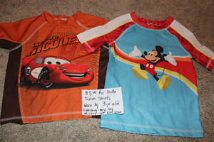 2T-3T Swim shirts for sale