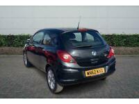 2012 Vauxhall Corsa 1.2 Active 3Dr Manual Hatchback Petrol Manual