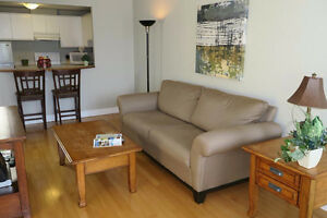 Furnished 1 Bedroom Condo by Halifax Waterfront boardwalk