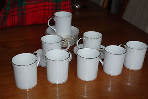 Bone China Cups & Saucers