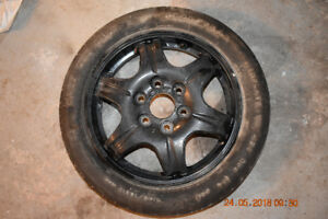Spare Wheel and Tire Buick Enclave T145/70R17