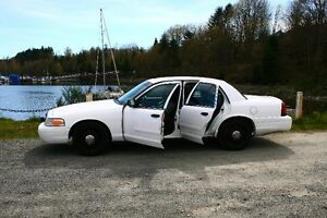 2008 Ford Crown Victoria Police Interceptor Sedan