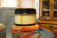 TWO FRAM AIR FILTERS CA10161 NEW IN BOX TO FIT DIESEL TRUCK GMC