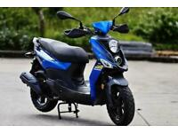 SYM CROX 125cc Automatic Sport Scooter Moped Learner Legal Commuter For Sale