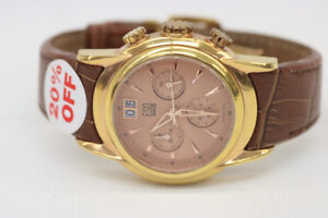 ESQ Swiss By MOVADO E5323 Rose Gold Mens Watch (#1692)