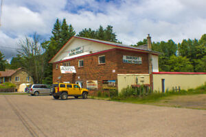 Prime Commercial Space + LARGE Apartment in Bancroft FOR SALE