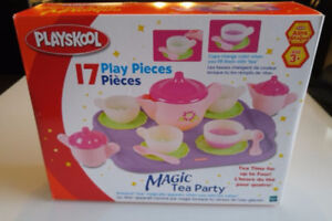 Tea Set by PLAYSKOOL (Brand New!)