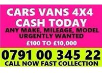 07910034522 SELL YOUR CAR VAN FOR CASH BUY MY SELL YOUR SCRAP BEST Gsdg