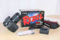 CANON REBELCAMERA T3i or T5i, Must be Excellent Condition!