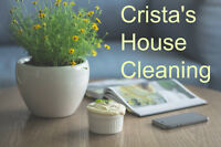 Crista's House Cleaning looking for Team Members