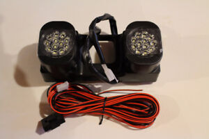 Hitch Mounted LED Back Up Light Pick Up Truck/ Van 2 Inch Hitch