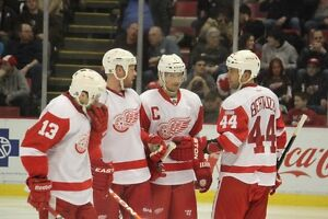 DETROIT RED WINGS LOWERS ROW 11 SECTION 110 – 2 SEATS PER GAME