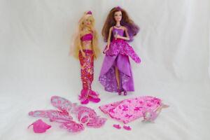 Merlia Mermaid Fairy and Popstar Barbie