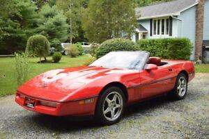 1990 corvette convertible (hardtop)