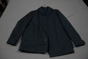 Men's Vintage Navy Harbor Master Jacket Size 40