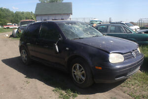 2002 Volkswagen Golf Coupe (2 door)